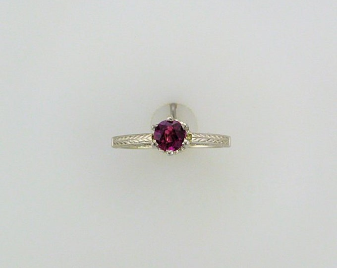 Ruby Solitaire Ring; Edwardian Ruby Ring; Alternative Engagement Ring; Alternative Promise Ring; Ruby Ring; Right Hand Ring