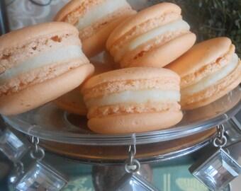 French Macaron Fleur d' Oranger