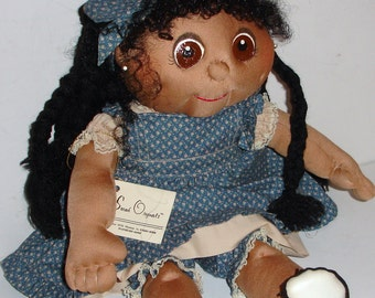 Tami is a Beautiful Soft Sculpture Doll 18 Inches - Sarah Originals Dolls