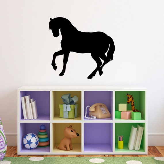 Horse Wall Decal 1 - Horse Decor - Girl Bedroom Sticker