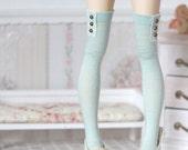 Light Mint stockings for BJD