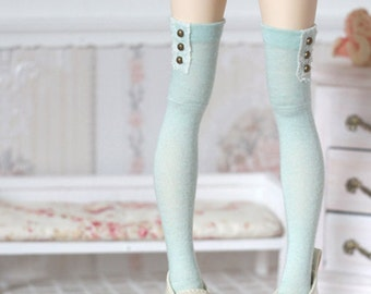 Light Mint stockings for BJD