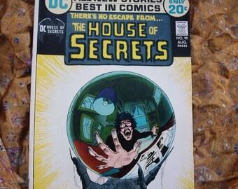 House Of Secrets No 99 DC Comics 1972 Bernie Wrightson Horror Sci Fi Devil Nancy Imagination