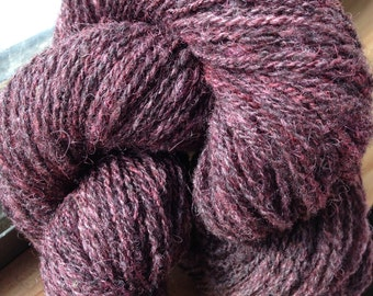 Columbia wool two ply yarn