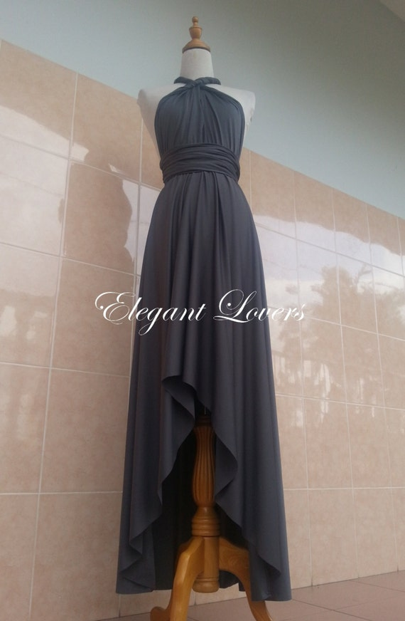 Dark Grey Prom Dress hd pictures