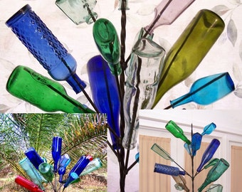 Spring 2017 Bundle GIFT Special:  (3)  Southern Wine Bottle tree yard garden wine art decor bottletree Made USA
