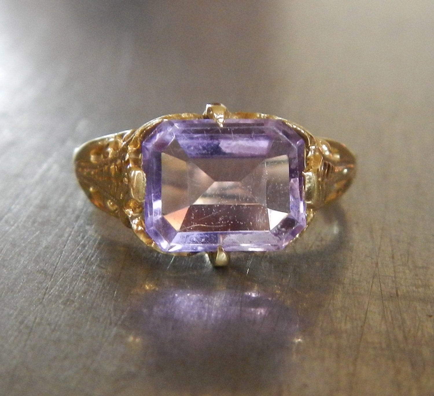 antique amethyst ring vintage amethyst edwardian ring
