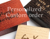 Personalized Text Custom Order 1 to 30 Characters Name