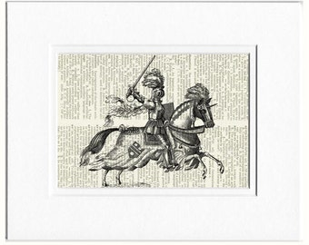 Knight in Shining Armor print