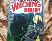 The Witching Hour No 1 DC Comics 1969 Witches Perfect Surf Dance Horror Sci Fi Eerie Strange Unnatural Supernatural Blood Curdling