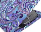 eReader Tablet cover - Purple Paisley - Nook, Kindle, iPad MINI - kindle Voyage cover, Kindle Touch Kobo case