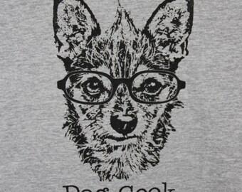 Dog Geek Womens Tee