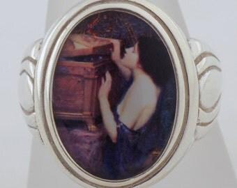 Waterhouse Pandora's Box Sterling Silver Ring  (Sizes 5-10 w/ half sizes)