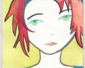 Kiss me now or go away aceo