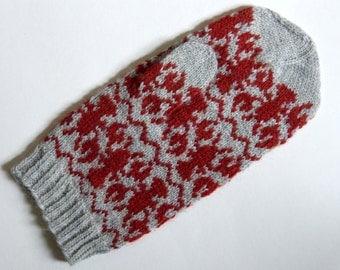 Rock Lobster Mitten Knitting pattern