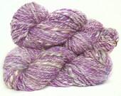 Handspun Yarn Merino Falkland wool viscose silk kidmohair bamboo sparkle