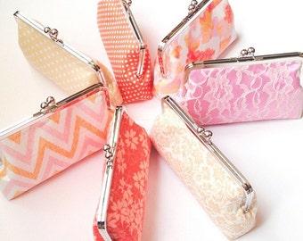 Bridal clutch custom bridesmaid gifts design your own XL clutch