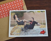 Rock of Love Save The Date and Envelope Paper Liner - DIY Printables
