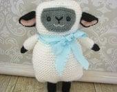 Sale - Amigurumi Knit Lamb Pattern Digital Download