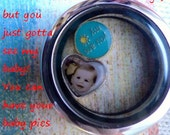 FLOATING CHARMS - My Babies - 1 charm - NeW ShAPES - personalized baby picture - send me your baby pic and I'll make you a charm