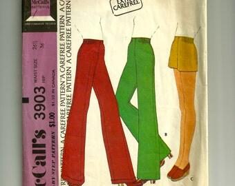 Vintage McCall's Pant Set Pattern 3903