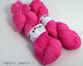 manic panic - glitterati (dyed to order)