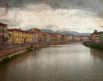 River Arno, Pisa 8X10