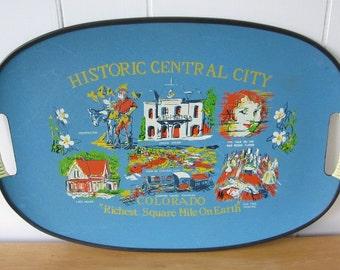 vintage Colorado souvenir tray