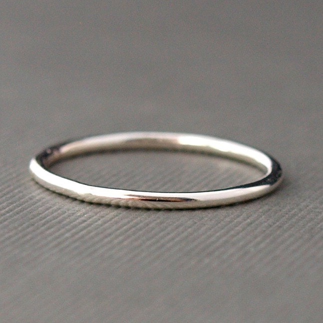 plain silver ring simple ring sterling silver band