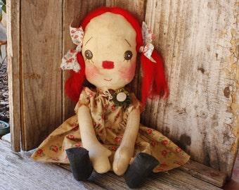 Mandy, raggedy cloth doll