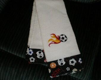 Soccer Hand Towel
