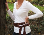 Incredible Ribbon Belt/Scarf - Crochet Pattern
