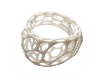 2-layer twist ring (3D printed nylon)