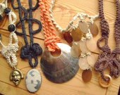 Super Deal!! Wholesale Hippie Hemp Necklace Lot