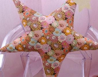 Star Pillow - Flower Child-