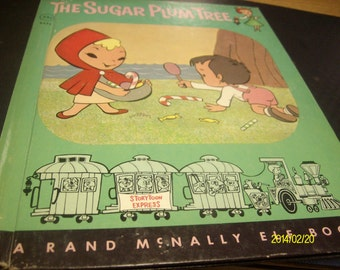 Vintage Hardback Rand McNally Elf book The Sugar Plum Tree 8432