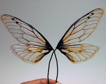 Fairy Wings - Natural Cicada Wings CNL -  For OOAK Art Dolls