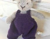 Hand Knit Lamb,  by Woolies on Etsy - Eco Friendly Farm Friend, Custom Knit, Waldorf Toy