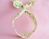 Dolly Bow Headwrap-Butterfly