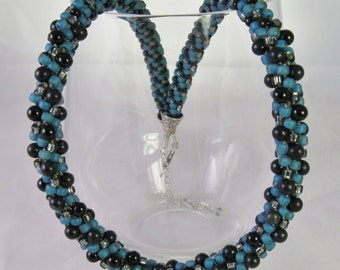 Black Jade Kumihimo Necklace