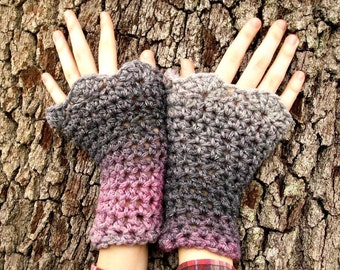 Instant Download Crochet Pattern - Crochet Wristwarmers Crochet Pattern - Wrist Warmers Wrist Cuffs - Womens Accessories