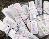 300 GOOD For a DRINK Party or Wedding Tickets - Very Vanilla - Custom - You choose Ink Color