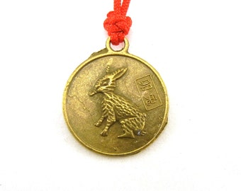 Chinese zodiac rabbit charm