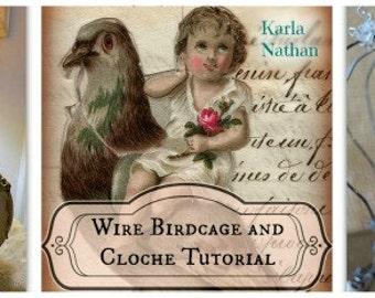 Wire Bird Cage and Cloche Workshop
