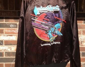 Judas Priest Satin Jacket 1983  Screaming for Vengeance