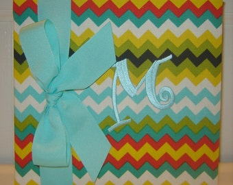 Multi Colored Chevron Album