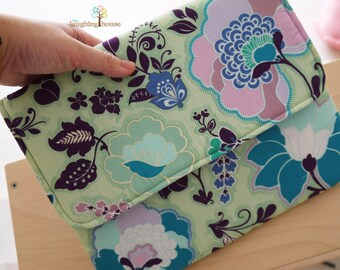 Apple iPad Sleeve, Tablet Cover, Envelope Case (Twilight Pond)