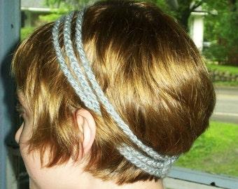 3-Pack Grecian Three Strand Crocheted Headband