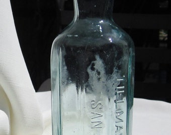 Antique San Francisco Bottle (Aqua320)