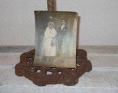 antique wedding photo photograph bride and groom